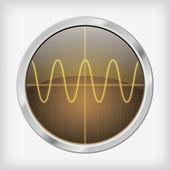 Osciloskop — Stock vektor