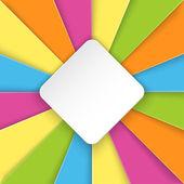 Fundo colorido listrado com lugar para texto — Vetorial Stock