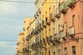 Sicilian houses — Stock Photo