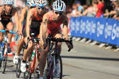 Dextro Energy World Triathlon Hamburg — Stock Photo