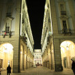Turin night — Stock Photo