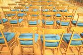 金色の椅子 — ストック写真