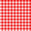 Royalty-Free Stock Vector Image: Red white plaid tablecloth