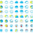 Weather icons — Stock Vector #25719439