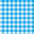 Blue white plaid tablecloth — Stock Vector #26193049
