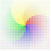 точечно полутонового изображения фона — Cтоковый вектор