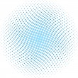 Dotted halftone background — Stock Vector