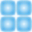 Seamless dotted halftone pattern — Stock Vector #39712241