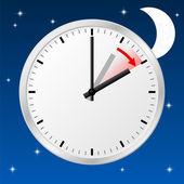 Alteração de horário para horário de verão — Vetorial Stock