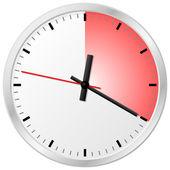 Timer with 20 (twenty) minutes — Vector de stock