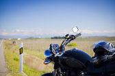 Motorbike trip — Stock Photo