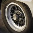 Stock Photo: Old spoke wheel