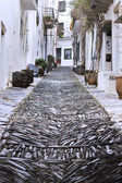 Cadaqués street — Stock Photo