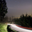 Stock Photo: Driving at night