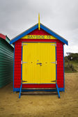 Bayside bathing box — Stock Photo