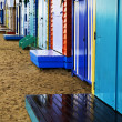 Stock Photo: Wet bathing boxes