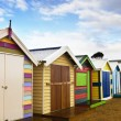 Stock Photo: Brighton Bathing Boxes