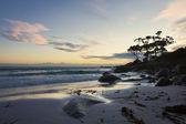 夕暮れのビーチ — ストック写真