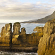 Punakaiki coast — Stock Photo