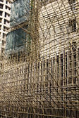 Bamboo scaffold. — Stock Photo