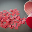 Foto Stock: Sweet hearts
