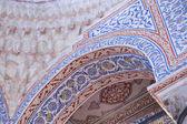 Inside blue mosque — Stock Photo