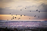 Cappadocia sunrise flight — Stock Photo