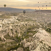 Cappadocian sunrise — Stock Photo
