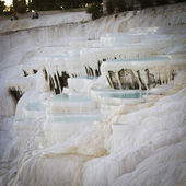 Pamukkale travertines — Stock Photo