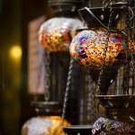 Постер, плакат: Istanbul night lamps