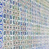 Ottoman border wall decoration — Stock Photo