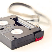 MiniDV tape — Zdjęcie stockowe