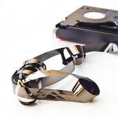 Cassette tape — Stock Photo