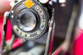 Vecchia macchina fotografica d'epoca — Foto Stock