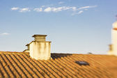 Chimney roof — Stock Photo