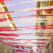 ������, ������: Street decoration for a major party