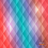 Colorful geometric abstract background — Stock Vector