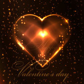 Valentine's day abstract background — Vettoriale Stock