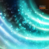 Abstract background with snow — Stock Vector
