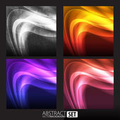 Abstract background for design set — Stock Vector