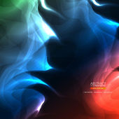 Astratto sfondo fumoso — Vettoriale Stock
