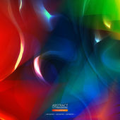 Abstract colorful smooth background — Stock Vector