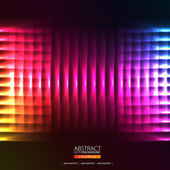 Abstract background with lines and squares — Stock Vector