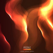Abstract fire picture — Stock Vector