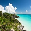 Tulum ruins, Mexico - Stock Photo