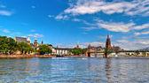 Main River in Frankfurt, Germany — Stock Photo