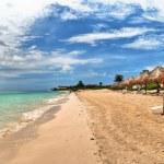 Beach at Playa del Carmen, Mexico — Stock Photo