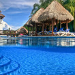 Hotel Resort, Playa del Carmen — Stock Photo