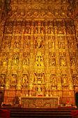 алтарь собора севильи — Стоковое фото