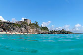 El Castillo in Tulum, Mexico — Stock Photo